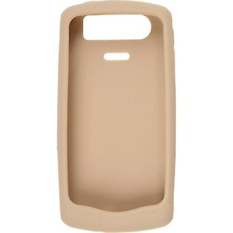 Blackberry Silicon Skin Case for Blackberry 8120/8130 Pearl Series - Gold