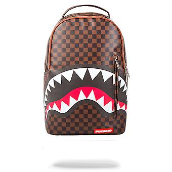 Sprayground Sharks In Paris Sleek 15 Inch Backpack Brown