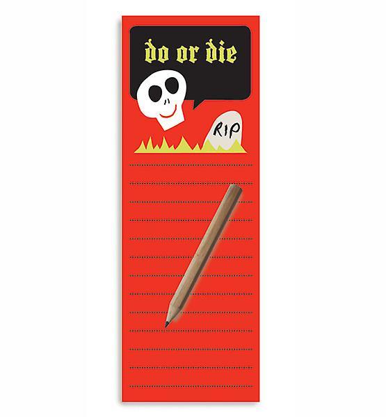 Do or Die magnétiques de listes de tâches Bloc-notes