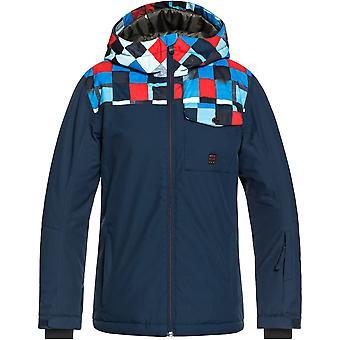 クイックシルバー男の子ミッション ブロック防水暖かいスキー コート
