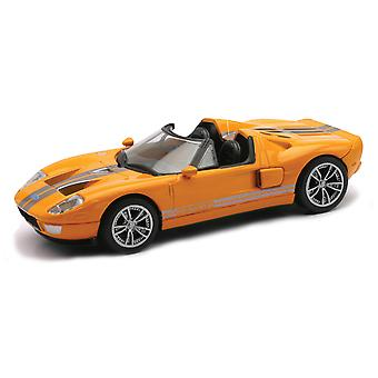 Die-Cast Orange Ford GTX1 échelle 01:43