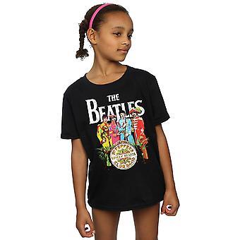 Сержант Пеппер футболку девочки Beatles