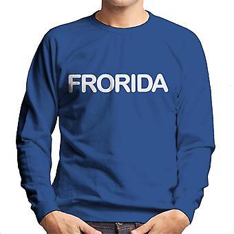 Frorida メンズスウェットシャツ