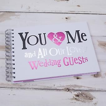 Bright Side Wedding Day Guest Book - Wedding Planning Gifts