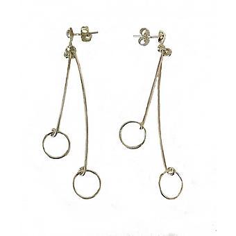 Cavendish francese Silver hoop orecchini pendenti