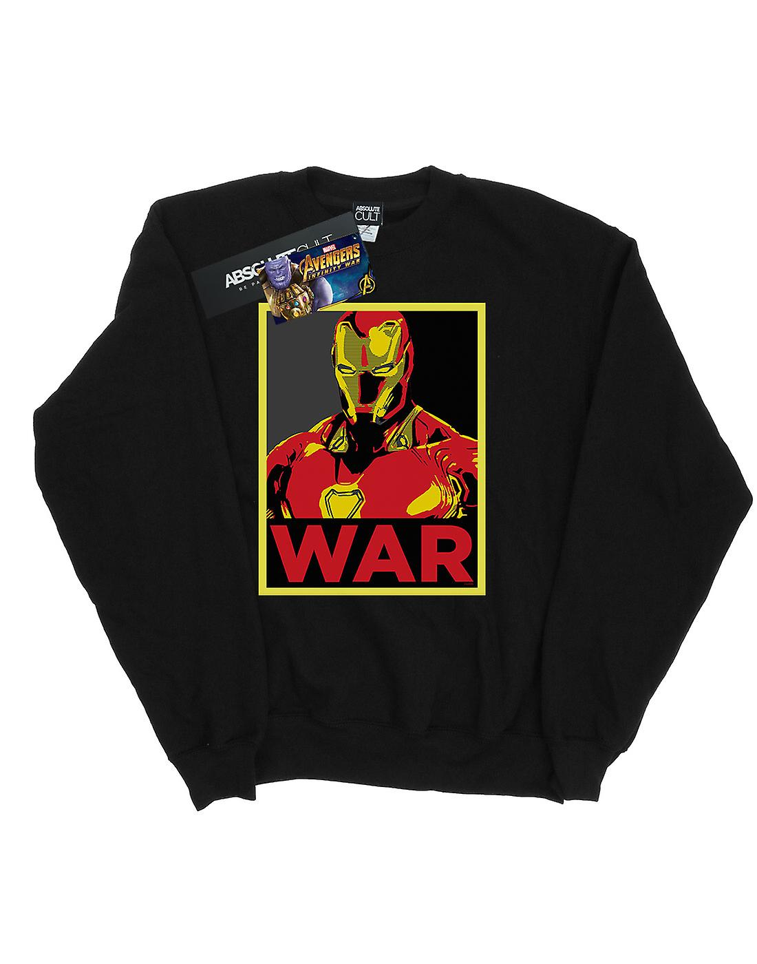 Marvel Women's Avengers Infinity War Iron Man War Sweatshirt