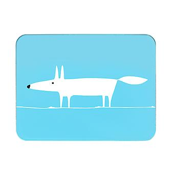 Scion Mr Fox Teal Worktop Saver 30 x 40cm