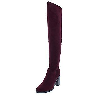 Bar III Womens Diandra Fabric Closed Toe Knee High Fashion Boots