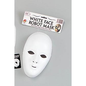 Deluxe Female Face Mask. White.
