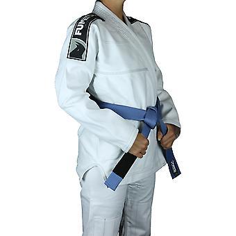 Fumetsu senhoras Prime Jiu-Jitsu Gi branco