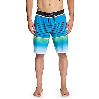 Quiksilver Highline Platte 20 Mid Length Boardshorts in Malibu