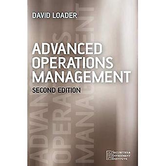 Geavanceerde Operations Management (Securities Institute)