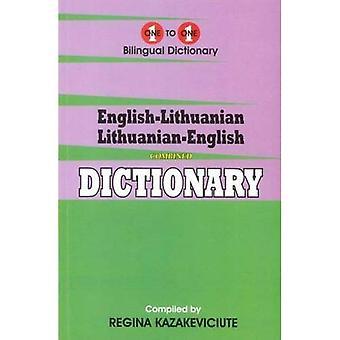Engels-Litouws & Litouws-Engels One-to-One woordenboek (examen-geschikt)