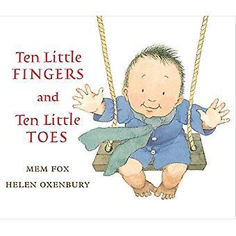 Diez pequeños dedos y diez pequeños dedos del pie