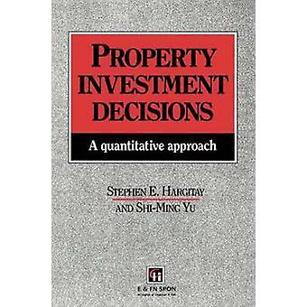 Immobilien-, Investitions-Entscheidungen einen quantitativen Ansatz von Hargitay & Stephen E.