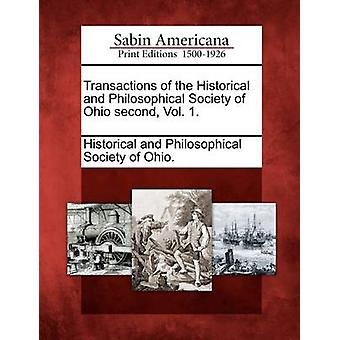 Transactions of the Historical and Philosophical Society of Ohio second Vol. 1. by Historical and Philosophical Society of