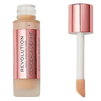Make-up revolutie verbergen & Foundation definiëren F8