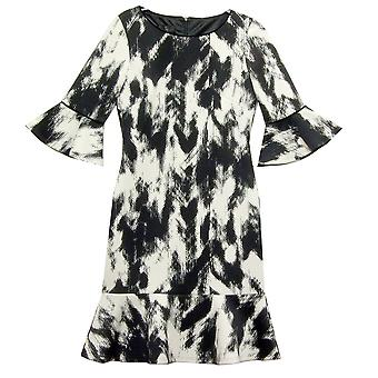 TIA Dress 78144 Black With White