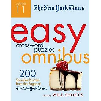 The New York Times Easy Crossword Puzzle Omnibus Volume 11 - 200 Solva
