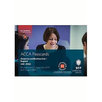ACCA droit des sociétés et des affaires (anglais)-cartes d'accès par BPP Learning