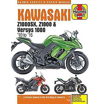 Kawasaki Z1000SX - Versys & Z1000 Service and Repair Manual 2010-2016