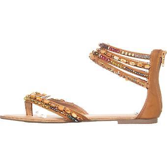 Zigi Soho Womens Talisa Split Toe Casual Ankle Strap Sandals