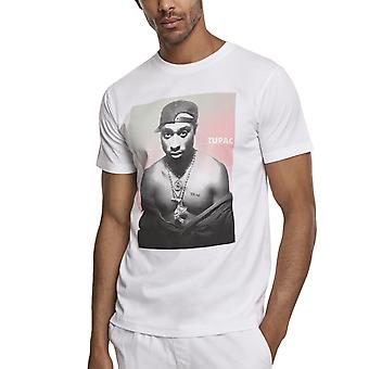 Merchcode chemise-2PAC Tupac Afterglow blanc