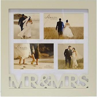 Amore Mr & Mrs Multi Collage Photo Frame