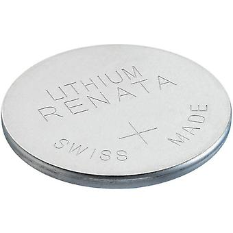 Renata Lithium Coin Cell Battery - Pack of 10 (Model No. CR1632)