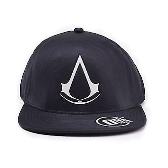 Assassin's Creed Crest Flatbill Baseball Cap zwart one size (TC335221ASC)