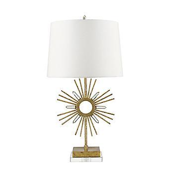 Elstead-1 lampe de table lumineuse-finition dorée-GN/SUN KING/TL
