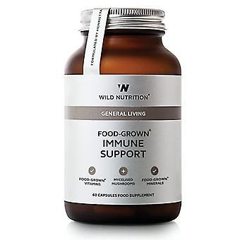 Wild Nutrition mat dyrket Immune støtte Vegicaps 60