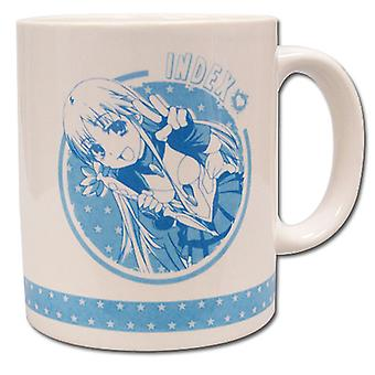 Mug - Certain Magical Index - New Index Coffee Cup Anime Licensed ge42612