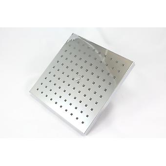20cm Square Overhead monsun dusch krom - 200mm 8 tum