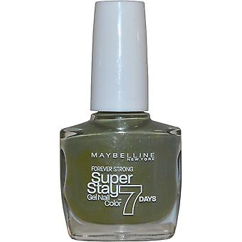 Maybelline Forever Strong Super Stay Gel Nail Color 10ml Moss Forever 7 Day Wear