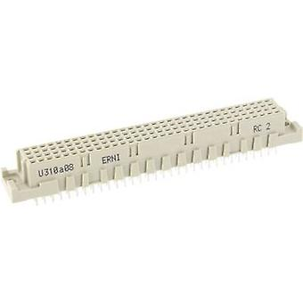 ERNI 254977 Edge connector (sockets) Total number of pins 128 No. of rows 4 1 pc(s)
