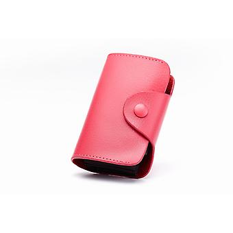 RFID Card holder Genuine leather-in 4 colors