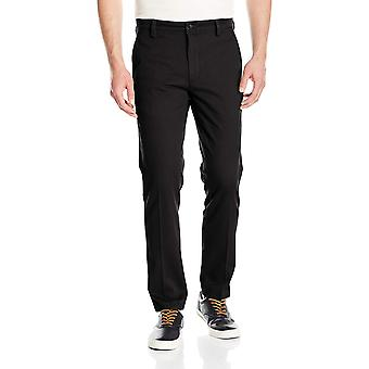 Dockers Men's Slim Tapered Easy Khaki Pants,, Black (Stretch), Size 33W x 32L