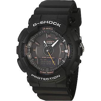 Casio G-Shock S-Series Step Tracker Black Watch - GMAS130VC-1A