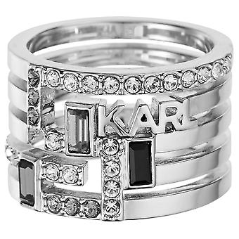 Karl Lagerfeld Woman Alloy Not available ring size 15 5512185