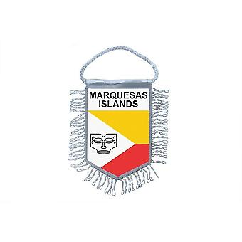 Flag Mini Flag Country Car Remembrance Blason Marquises Polynesie