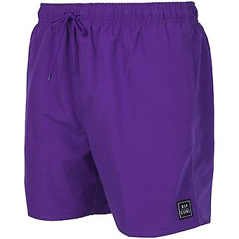 Rip Curl Volley Fly Out 16'' Elastische Boardshorts in Lila