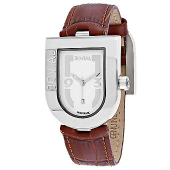 Jovial Women's Classic White Dial Watch - 06406-MSL-01