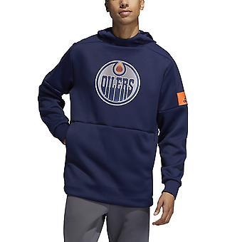 Adidas NHL Edmonton Oilers pelaaja Pullover huppu