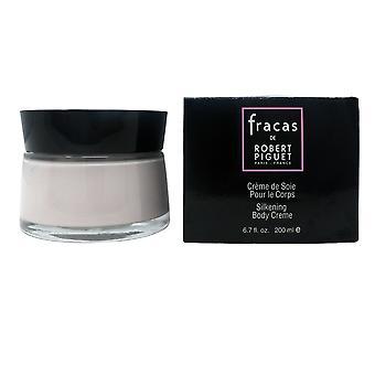 Robert Piguet Fracas Silkening Body Creme  6.7oz/200ml New In Box