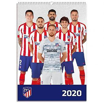 Atletico Madrid Calendar 2020