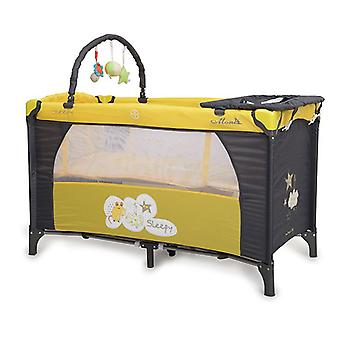 Travel bed, running stable Sleepy, changing mat, mattress, play bow, side entrance