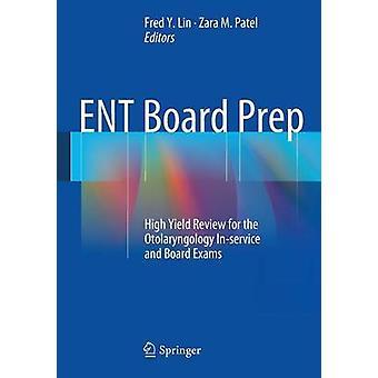 ENT Board prep door Fred Lin