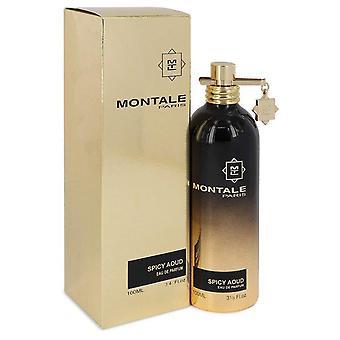 Montale pittige aoud eau de parfum spray (unisex) door montale 542539 100 ml