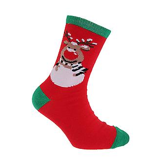 FLOSO Childrens/Kids Christmas Socks